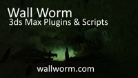 Wall Worm plugins and scripts for 3ds Max